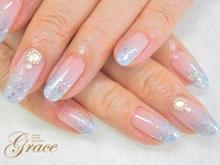Grace【グレース】神戸 Nail&EyeSpecialistBeautySalon -ラメグラデ